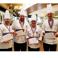 Six gold medals in a row for Skidmore chefs