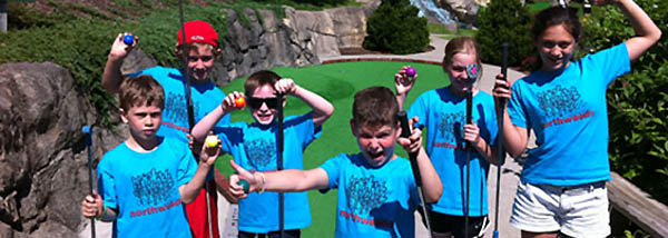Camp Northwoods - mini golf