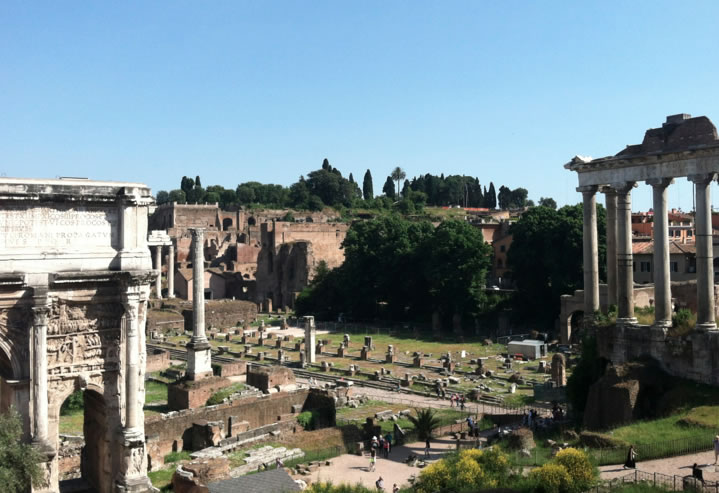 Roman Forum from Capitoline