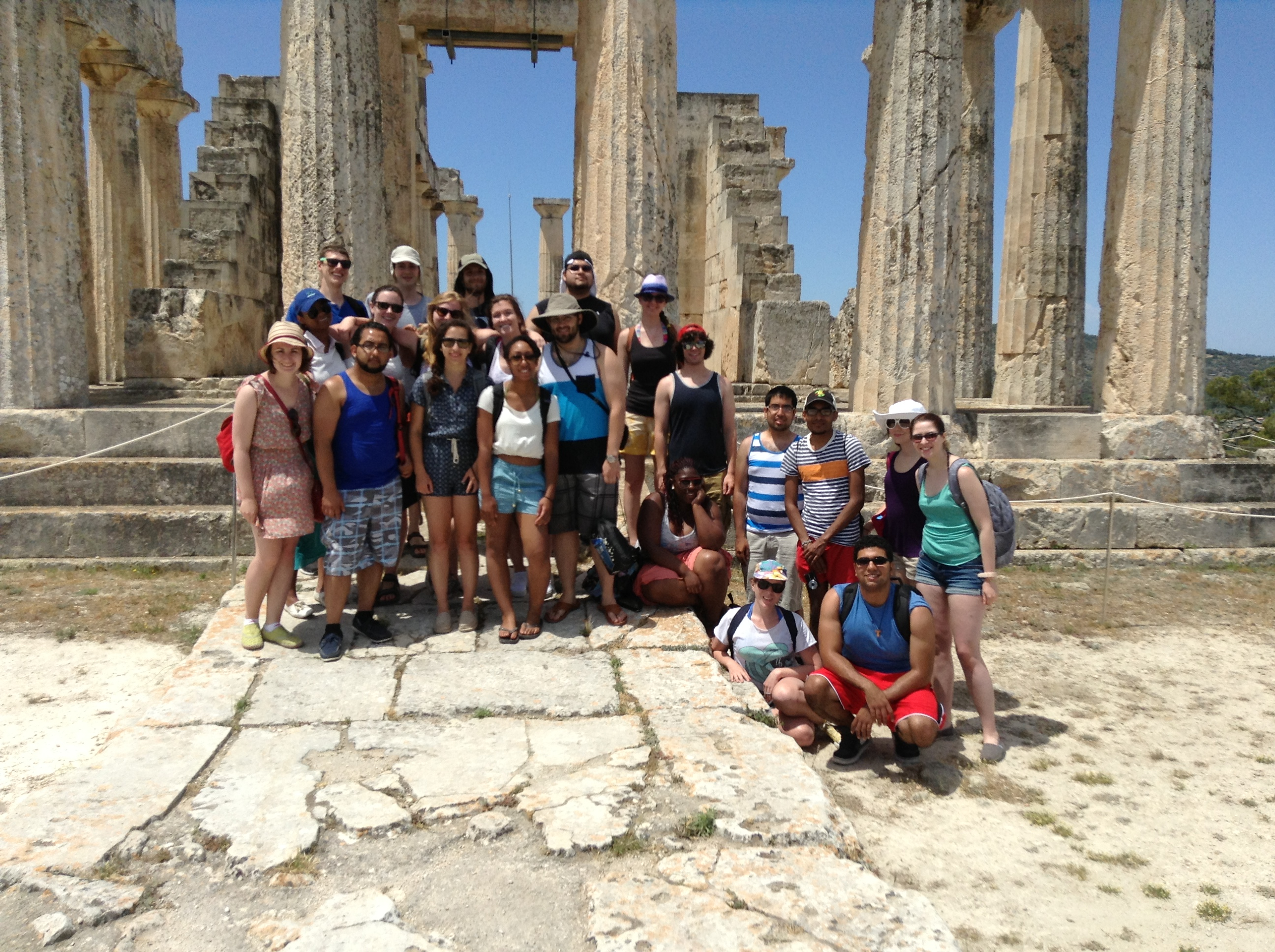 Classics Study Trip to Sounion, Greece