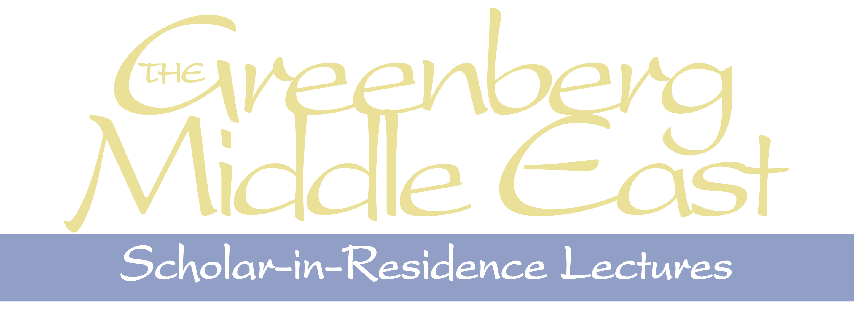 Greenberg Scholar In Residence Title