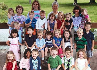 Preschool class, 2012