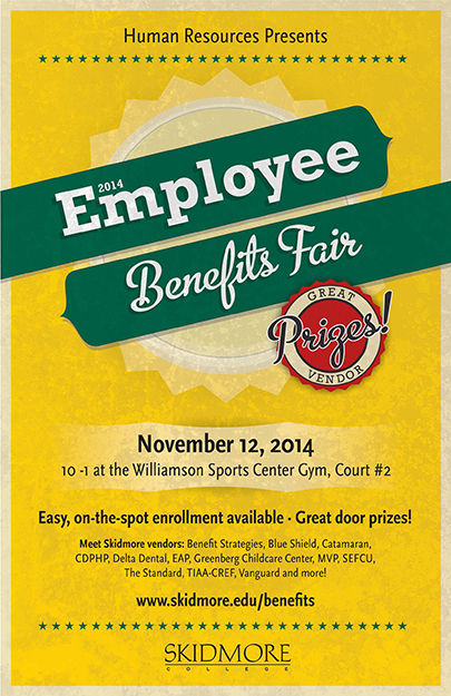Benefits Fair, Nov. 12 2014