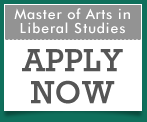 Master of Arts in Liberal Studies