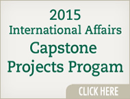 2015 IA Capstone Project Schedule