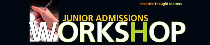 Junior Admissions Workshop