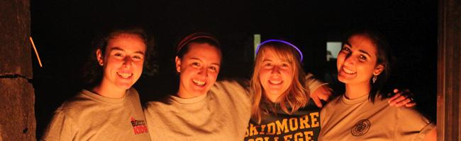 Team Penfield at the Bonfire