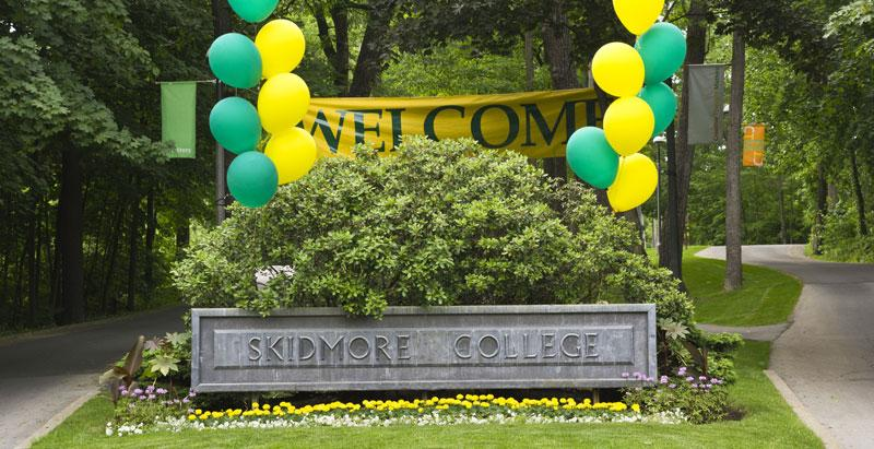 Welcome to Skidmore!