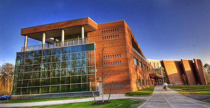 The Zankel Music Center is home to Skidmore's music department.