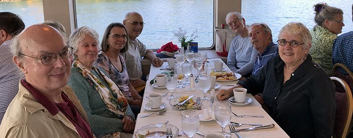 Retiree Outing on Lake George, October 5, 2017 (photos by Alice Dean, Anne Diggory and Susan Kress)