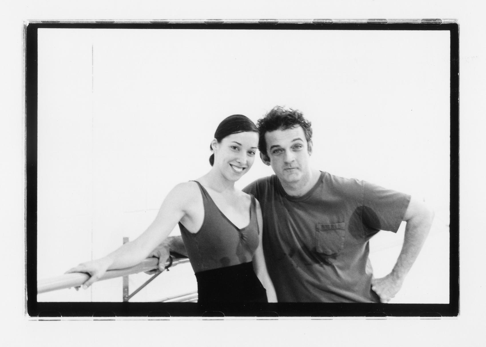 Mark Morris and Christina Ares, by Emma Dodge Hanson