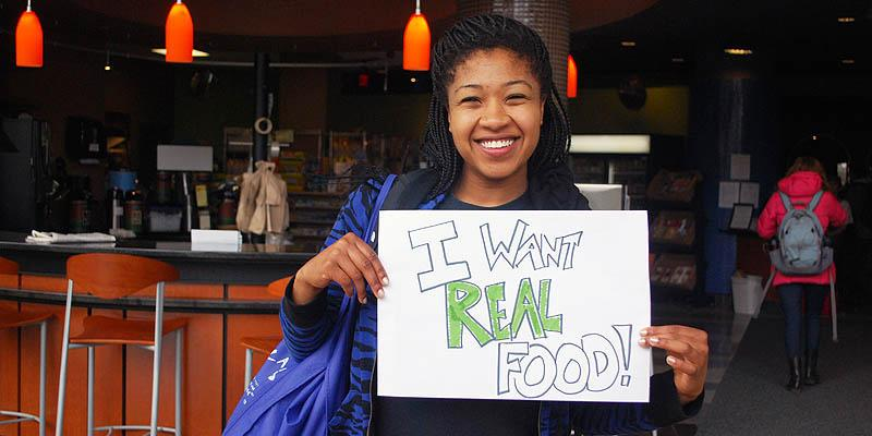 Student activism for sustainable food selections in Murray-Aikins Dining Hall