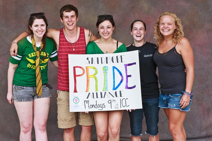 Skidmore's own Pride Alliance