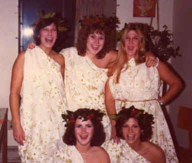 Sumac A (Scribner Village) Toga Party 1978. Submitted by Lori Gedon '79.