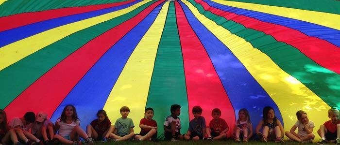 Children making summer count at Camp Northwoods!