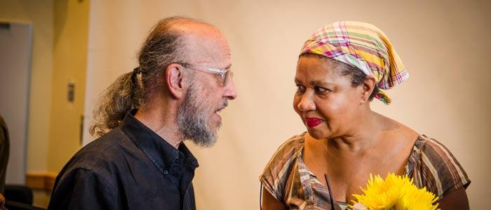NYS Summer Writers Institute offers workshops and readings for aspiring authors. (Robert Boyers & Jamaica Kincaid)