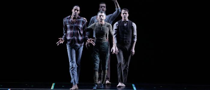 SITI Company performs during their four-week workshop at Skidmore.