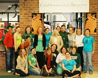 Goddesses and Amazons exhibit, Academic Festival 2005. Photos courtesy of Karen Smyth '05