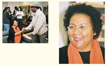 bell hooks, who came to Skidmore as part of Black History Month in 2003
