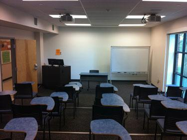 Tiered Classroom