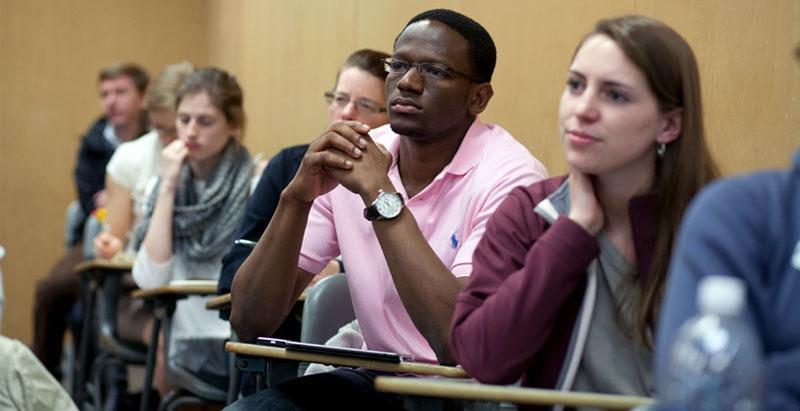 Skidmore uses an interdisciplinary approach to teaching and learning. 