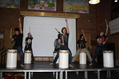 Skidaiko at Cultural Night Market