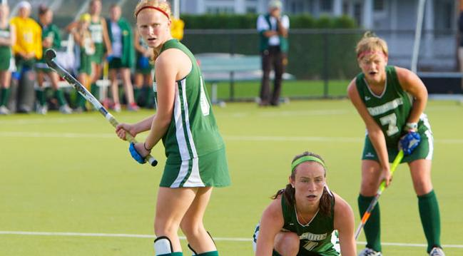 Skidmore Field Hockey in Play