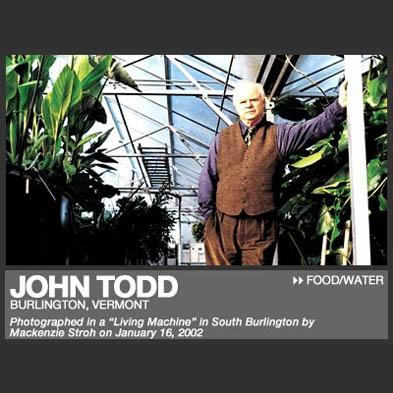John Todd: Ecological Design