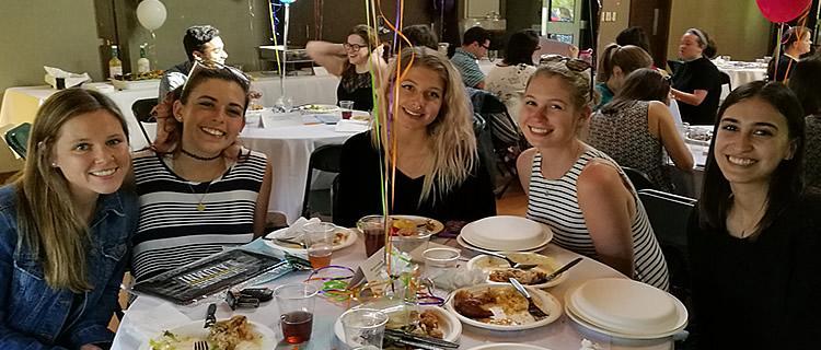 Senior dinner 2017