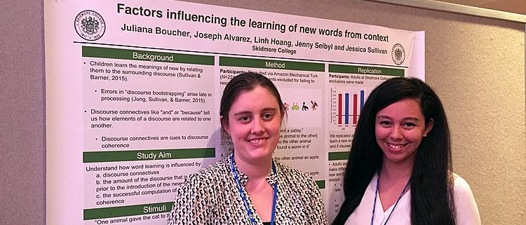 Jess Sullivan and Juliana Boucher, APS 2015
