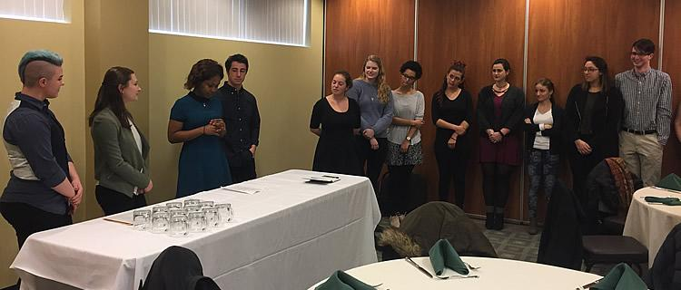 Psi Chi Induction Ceremony 2017