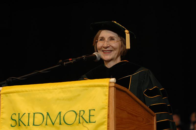 Gail Dudack '70, president, Alumni Association