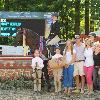 Temptation owned by Autumn Janesky, ridden by Kristy Herrera - Overall Winner of the USHJA International Hunter Derby