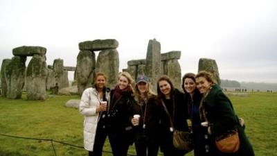 England - Meredith McCann - Stonehenge in February - 2011