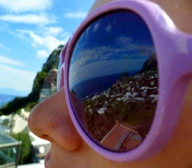 Italy - Tala Ginsberg - Eyes on Capri - 2011