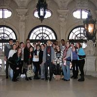 Picture of students at Belvedere 2010.