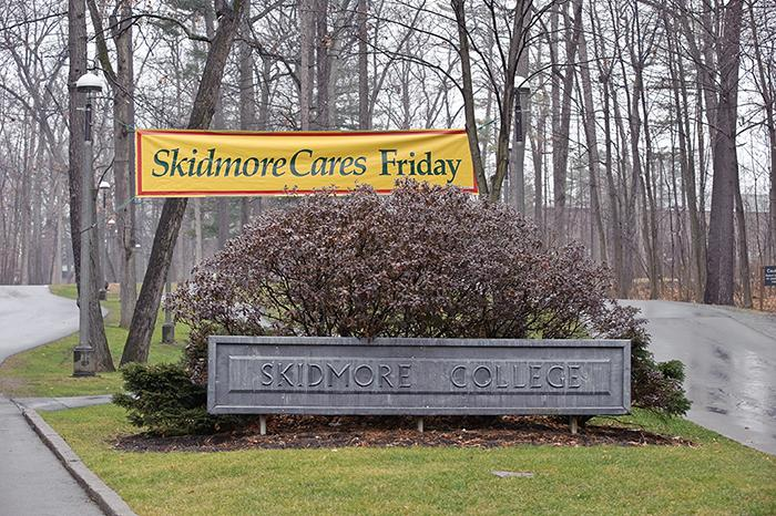 Gearing up for Skidmore Cares Friday
