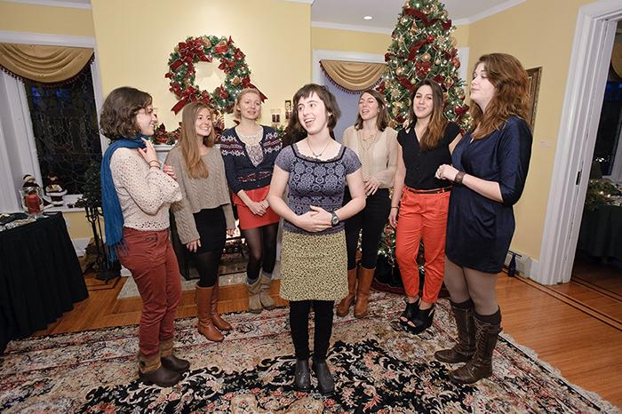 Caroling in Scribner House