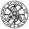 The seal of the Skidmore School of Arts, designed by Lucy Skidmore Scribner