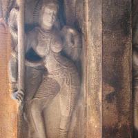 Aihole Ravana Phadi Ardhanarishvara