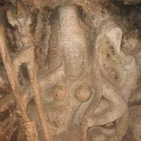 Aihole Ravana Phadi Mahisasuramardini