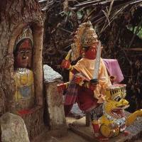 Hampi 1987 Tree Devi 7