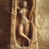 Hampi Woman & Tree 1