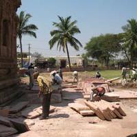 Pattadakal Virupaksha Restoration