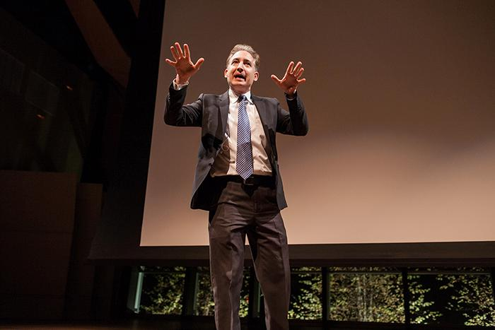 Columbia%20University%20physicist%20and%20PBS%20documentary%20host%20Brian%20Greene%20gave%20a%20challenging%20talk%20on%20the%20importance%20of%20science.