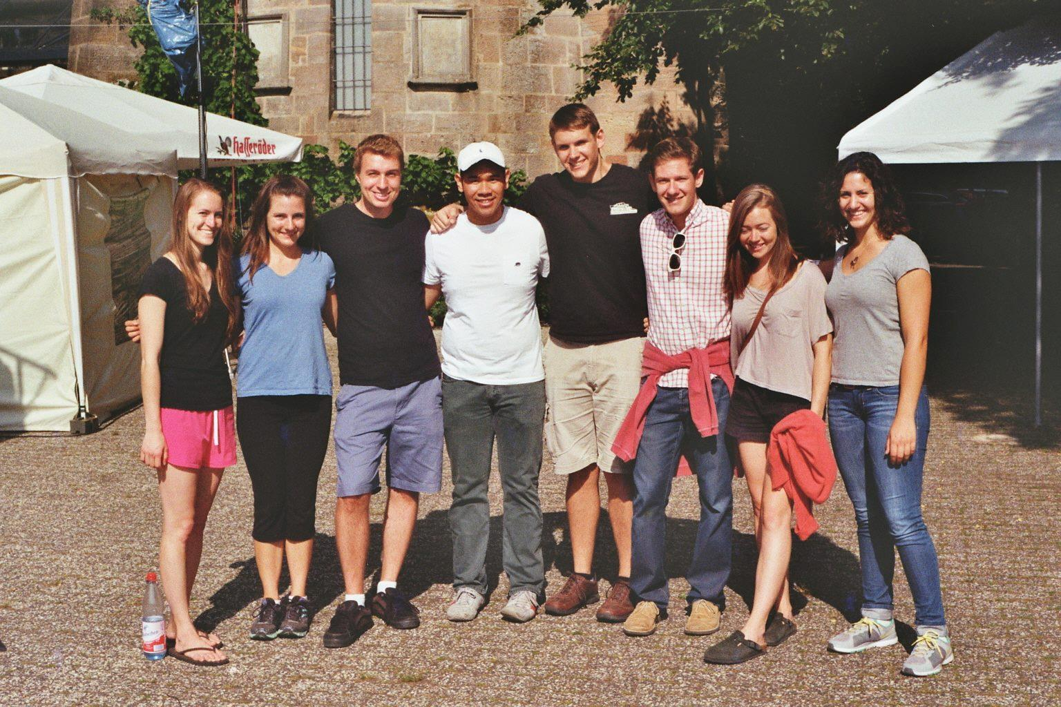 2013 Germany Research Fulbright recipient Julia Mazzarella in Marburg, Germany