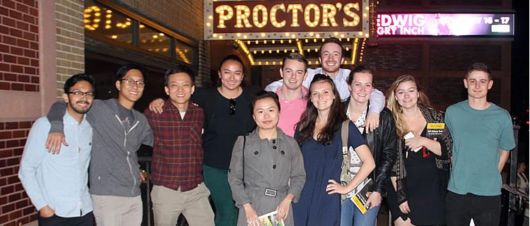 SSCP at Proctors to see Neil deGrasse Tyson! UPH/Proctors has been a great client this semester!
