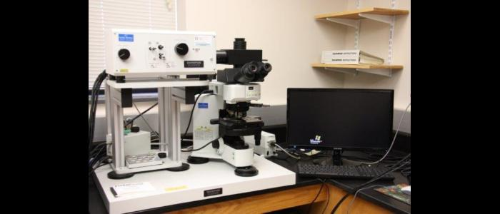 Olympus Fluoview 300 confocal laser scanning microscope