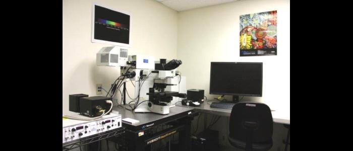 Olympus Fluoview 1200 confocal laser scanning microscope