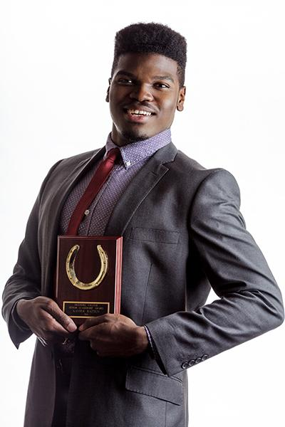 Xavier Hatten '14: The SGA Senior Leader Award.